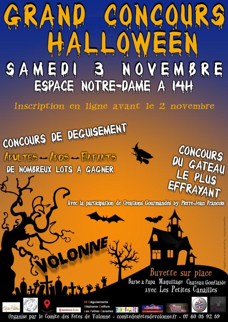 Le Grand concours Halloween 2018 à Volonne