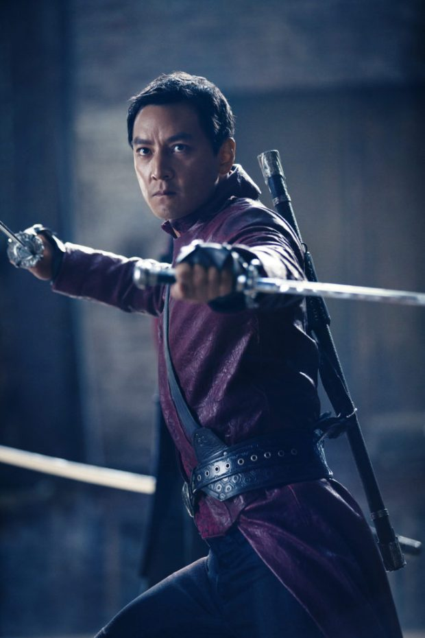 Daniel Wu as Sunny - Into the Badlands _ Season 1, Portraits - Photo Credit: James Dimmock/AMC