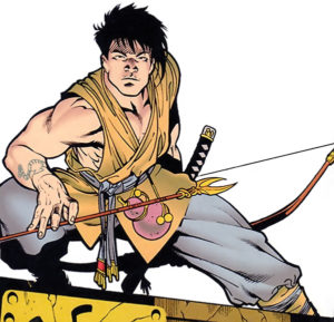 King Tiger - crouching archer