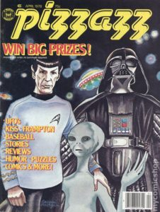PIZZAZZ #7 feat. STAR TREK & STAR WARS