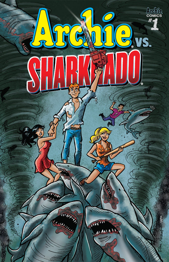 Previews- Archie Vs. Sharknado #1 (one-shot)