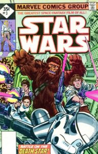 STAR WARS {1st Marvel Series} #3 reprint (2nd printing)
