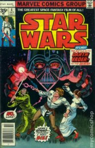 STAR WARS {1st Marvel Series} #4 newsstand 35 cents
