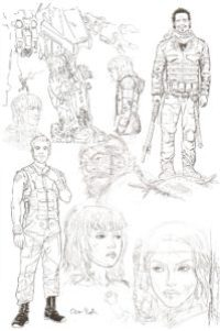 WE STAND on GUARD #1 sketch page 2