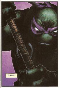 BATMAN • TNMT #1 Donnie close-up
