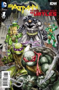 BATMAN • TNMT #1 cover