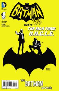 BATMAN Meets The MAN from U.N.C.L.E. #1 variant