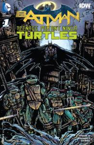 BATMAN TMNT #1 Kevin Eastman cover