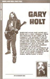 Exodus member 3 - Gary Holt