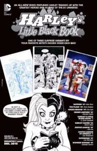 HARLEY'S LITTLE BLACK BOOK variants ad