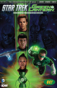 STAR TREK GREEN LANTERN #1 Emerald City CC exclusive variant