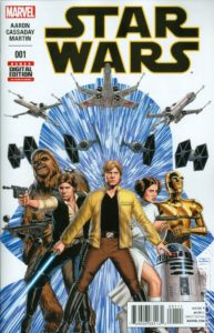 STAR WARS {2nd Marvel Series} #1 main cover