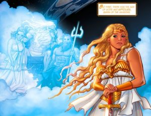 LEGEND of WONDER WOMAN {2nd Series} #1 Hippolyta