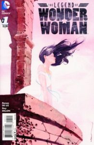 LEGEND of WONDER WOMAN {2nd Series} #1 cover B
