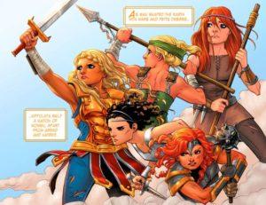 LEGEND of WONDER WOMAN {2nd Series} #1 original Amazons 2