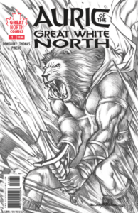 AURIC of the GREAT WHITE NORTH #1 cover C