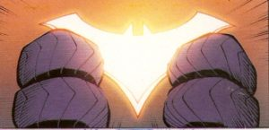 BATMAN #50 lighting the way