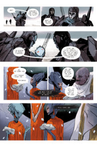 FOURTH PLANET #1 hear my call pg. 21