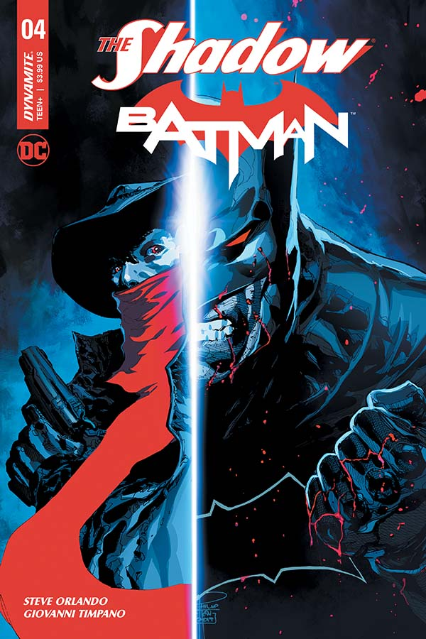 The Shadow / Batman #4