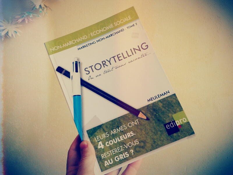 Storytelling - marketing non-marchand