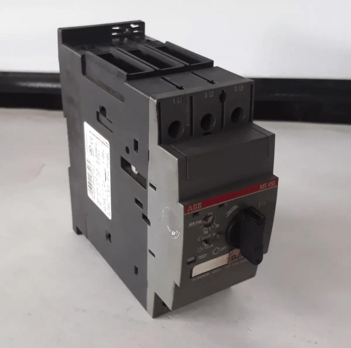 Disjuntor Motor Abb Ms450