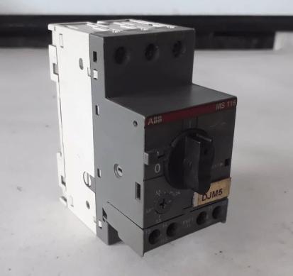 Disjuntor Motor Abb Ms116