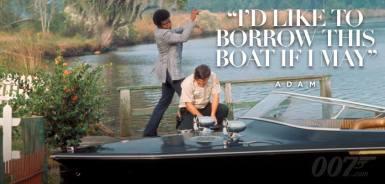 J'aimerais beaucoup emprunter ce bateau.