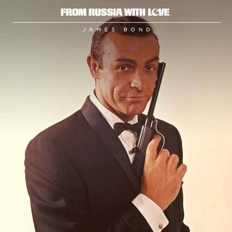 Sean Connery dans le rôle de James Bond 007