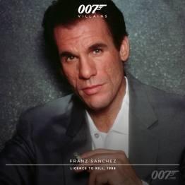 Franz Sanchez (Robert Davi) - Permis de Tuer 1989