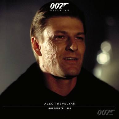 Alec Trevelyan (Sean Bean) - Goldeneye 1994