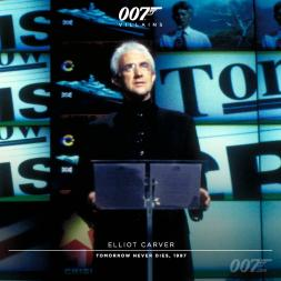 Elliot Carver (Jonathan Pryce) - Demain ne meurt Jamais 1997