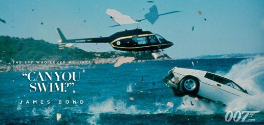 Vous savez nager ?- James Bond - L'espion qui m'aimait