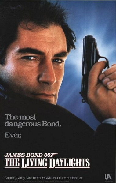 Poster original : un nouveau Bond