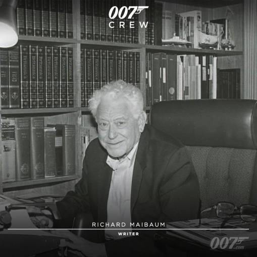 Richard Maibaum, scénariste