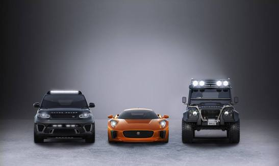Concept art des voitures utilisées dans le film