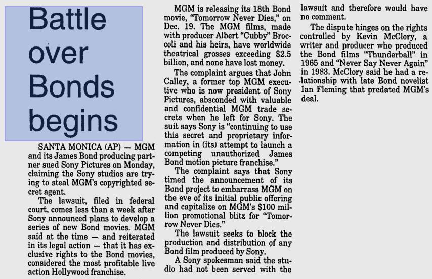 Lodi News-Sentinel - 18 novembre 1997
