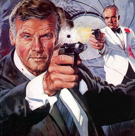 Le magazine Time Out illustre la bataille des Bond.