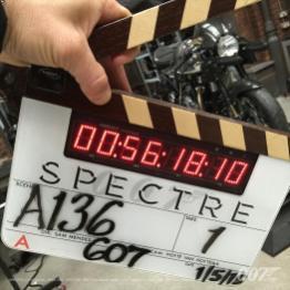 1er mai : pas de repos pour 007 et cette nouvelle moto