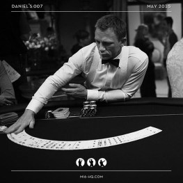 Behind the scenes on Casino Royale #danielcraig #jamesbond