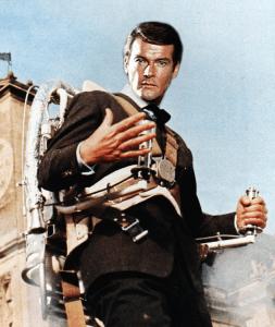 Roger Moore jetpack