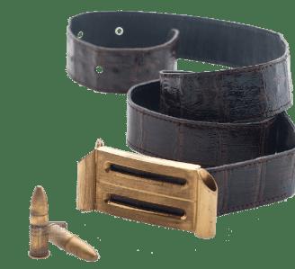 Scaramanga Belt (vente enchére Christie)