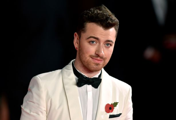 Sam-Smith-attending-the-World-Premiere-of-Spectre
