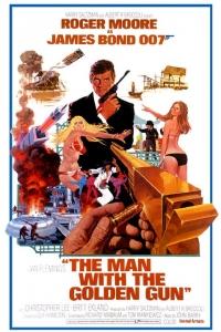 Man golden gun affiche