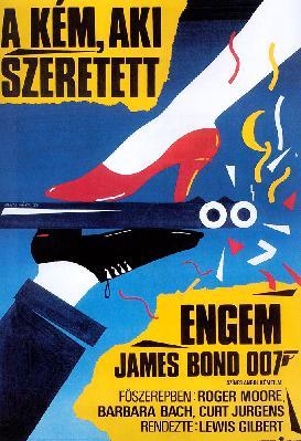 Poster hongrois de L'espion qui m'aimait.