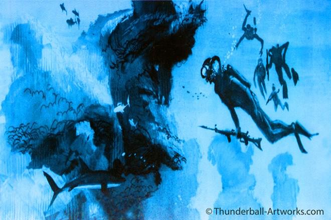 Thunderball original work Battle Aqua