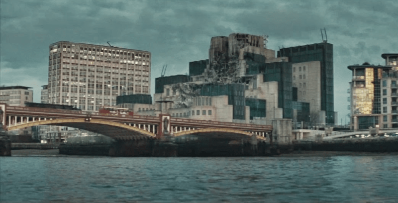 mi6 destroyed