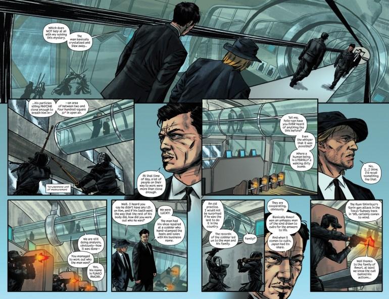 Felix Leiter comics 4