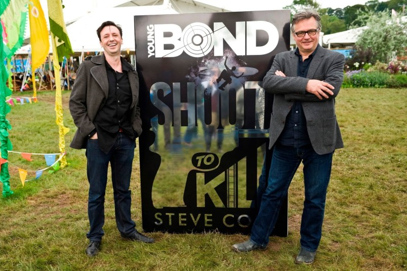 Steve Cole and Charlie Higson - The Hay Festival (2014)
