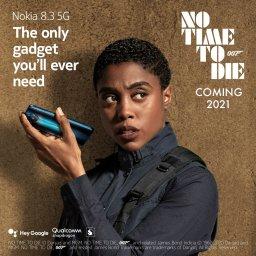 Nokia 8.3 Lashana Lynch
