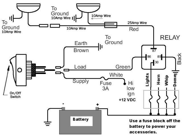 diagram led highbeam light bar wiring diagram full version